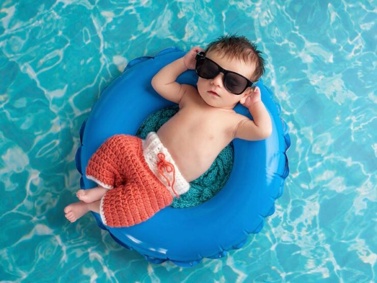 Myth About Newborn's Swimming Ability